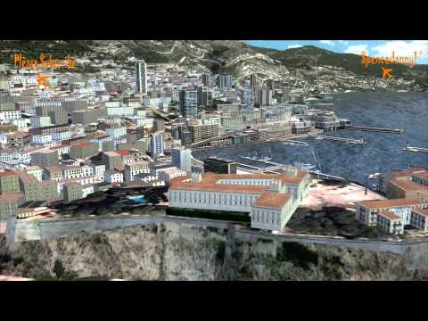 FSX Movie, Aerosoft Monaco Scenery