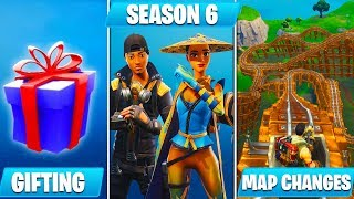 *HUGE* Fortnite Update 5.41! (Season 6, Cube Event Date, Gifting, Map Changes & MORE)