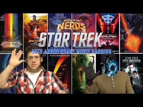Star Trek: 50th Anniversary Movie Ranking - Review Of The NERDS