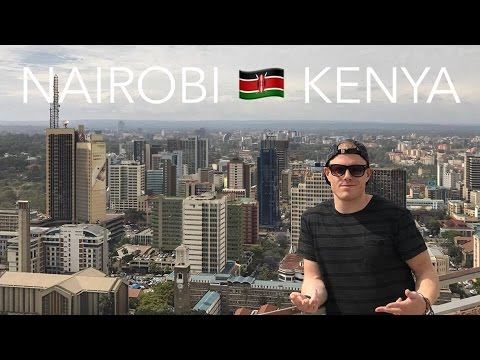 NAIROBI, KENYA 🇰🇪  Views of the City 🌴  East Africa Backpacking Tour Travel Vlog #1