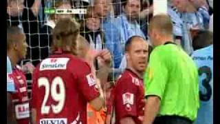 MALMÖ FF FÖRSTA MÅLET PÅ SWEDBANK STADION!