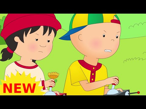 Funny Animated cartoons Kids   NEW   Captain Caillou   WATCH ONLINE   Cartoon for Children