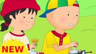 Funny Animated cartoons Kids | NEW | Captain Caillou | WATCH ONLINE | Cartoon for Children thumbnail