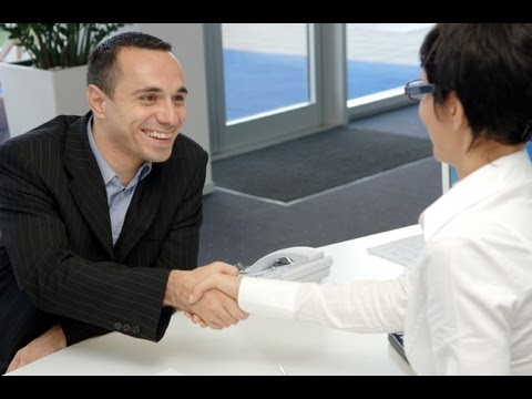 Body Language in a Job Interview