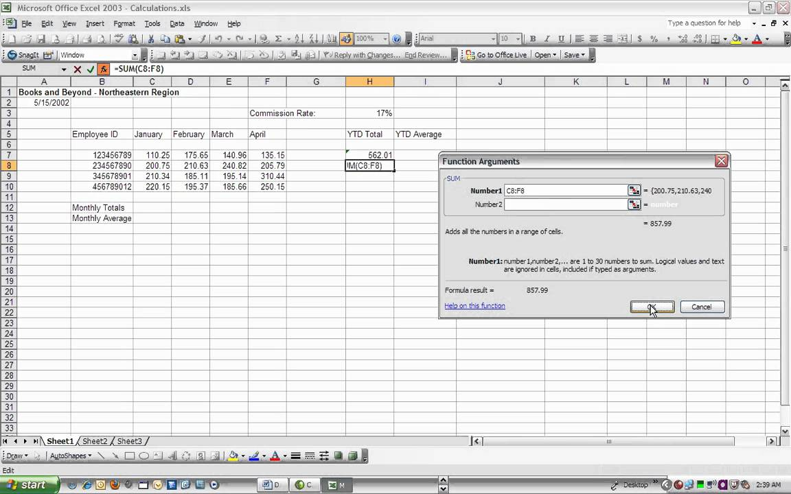 v train quickly learn excel formulas and functions youtube