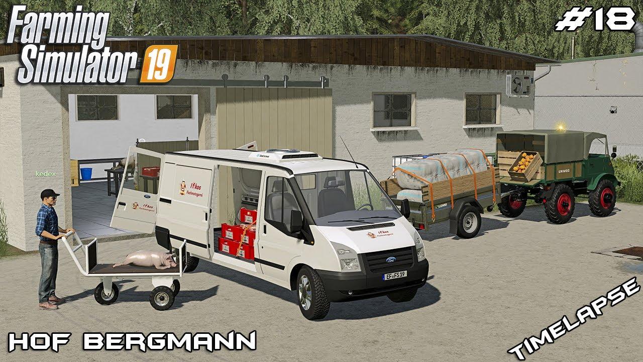 We bought ORCHARD and visiting BUTCHER w/@kedex | Hof Bergmann | Farming Simulator 19 | Episode 18