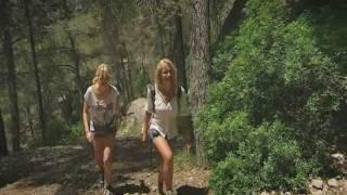 wandern auf Mallorca, Astrid Prinzessin zu Stolberg und Monica Ivancan