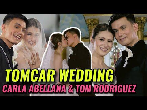 Download ACTUAL FULL VIDEO CARLA ABELLANA TOM RODRIGUEZ WEDDING 💍❤ KASAL ni TomCar