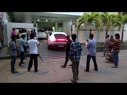 The Ultimate Crowd Puller! Lamborghini Huracan - India (Hyderabad)