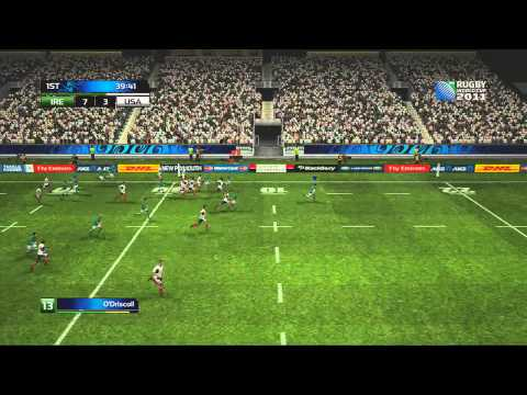 Ireland vs USA - Rugby World Cup 2011 - Pool C Match 1