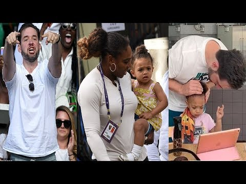 Serena Williams enjoys time with daughter Olympia at Wimbledon⭐Serena, Olympia & Ciara at the pool