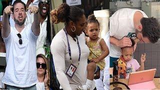 Serena Williams enjoys time with daughter Olympia at Wimbledon⭐Serena, Olympia & Ciara at the pool