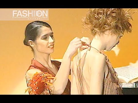 PATRIZIA PIERONI Haute Couture Spring Summer 2003 Rome - Fashion Channel