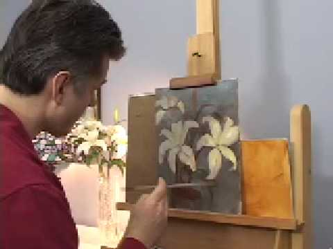 Oil Painting Demonstrations How To Paint Flowers