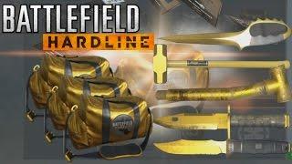 Battlefield Hardline Golden & Premium Battlepack Opening!