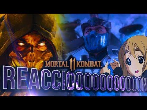 PRIMER VISTAZO al Gameplay de Mortal Kombat 11 - REACCIÓN