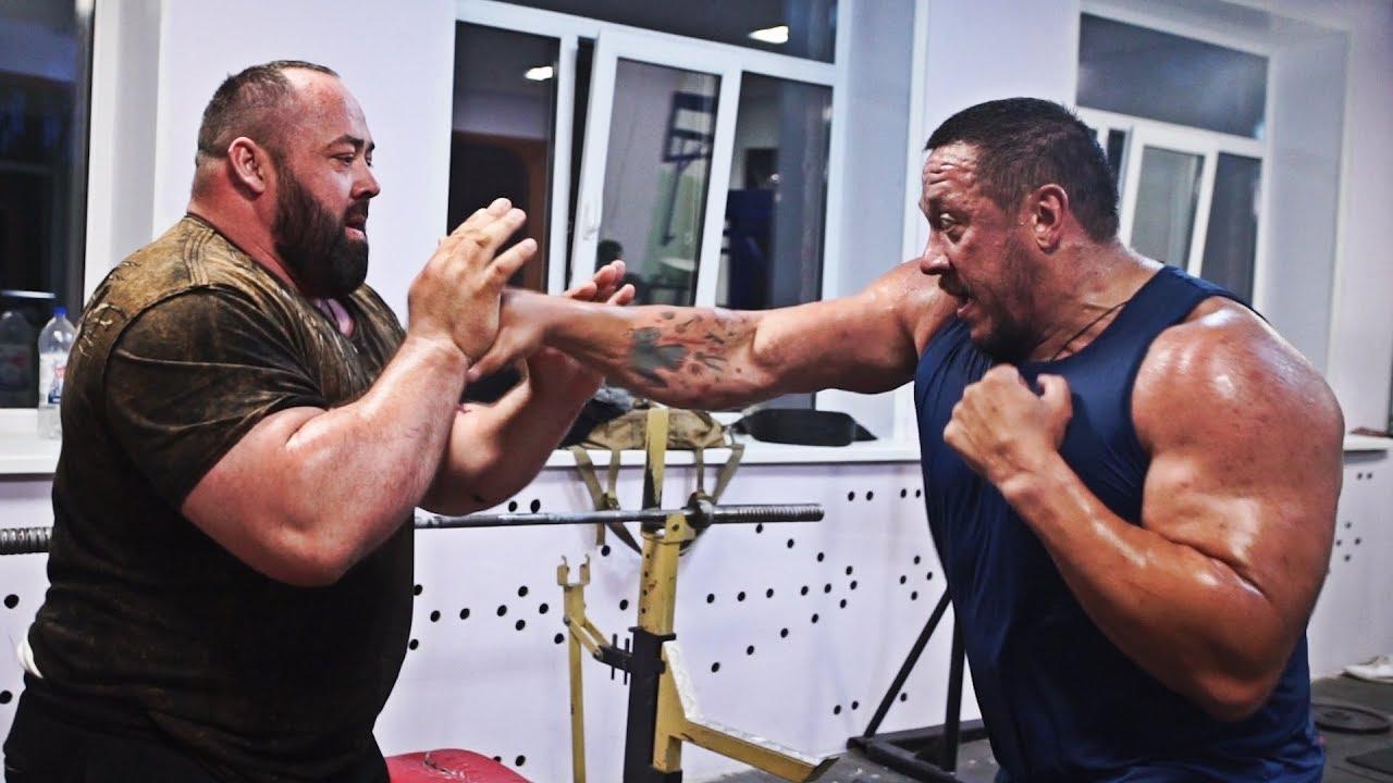 Как Маланичев Кокляева боксу учил!