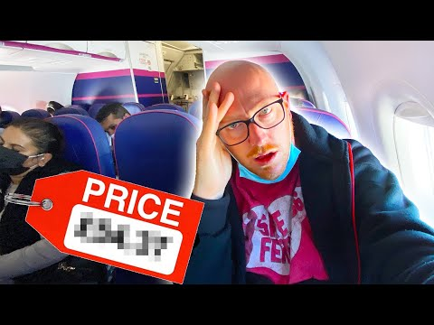I Spent 48 HOURS On Europe's CHEAPEST Airline And Only Paid £__