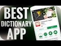 Best Dictionary App For Smartphone || U-Dictionary App Review In Hindi