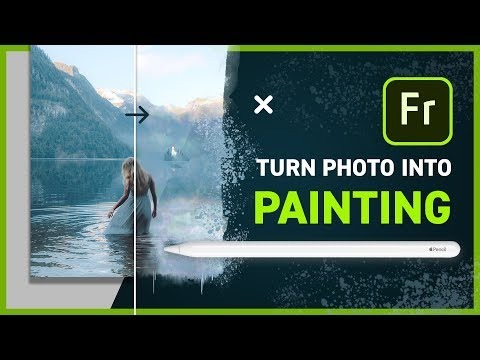 Adobe Fresco - Turn A Photo Into Painting