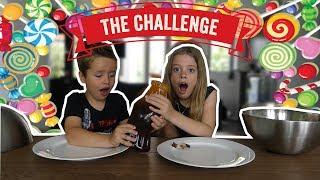 BIG CANDY VS SMALL CANDY CHALLENGE !! - Broer en Zus TV VLOG #174