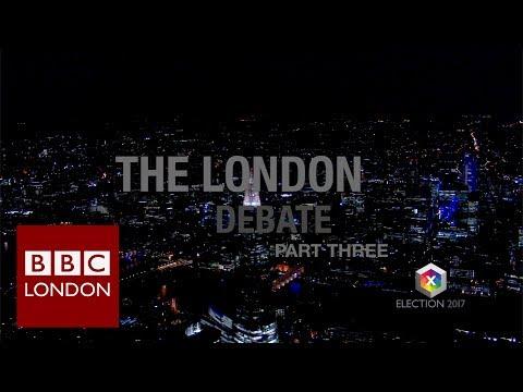 BBC Election 2017: The London Debate - part 3 Brexit