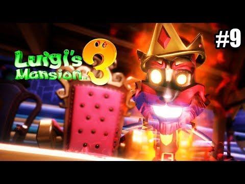 Luigi\'s Mansion 3 #9 — Рыцарь Ада {Switch} прохождение часть 9