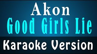 akon good girls instrumental karaoke