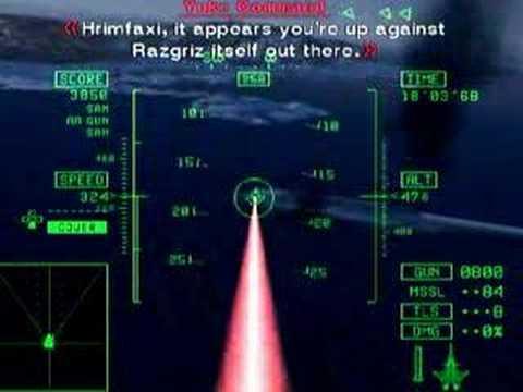 Ace Combat 5 Demons of Razgriz 1:56 (Falken)