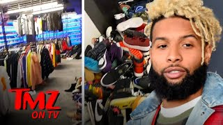 Odell Beckham Jr.  Reveals Most Insane Closet Ever | TMZ