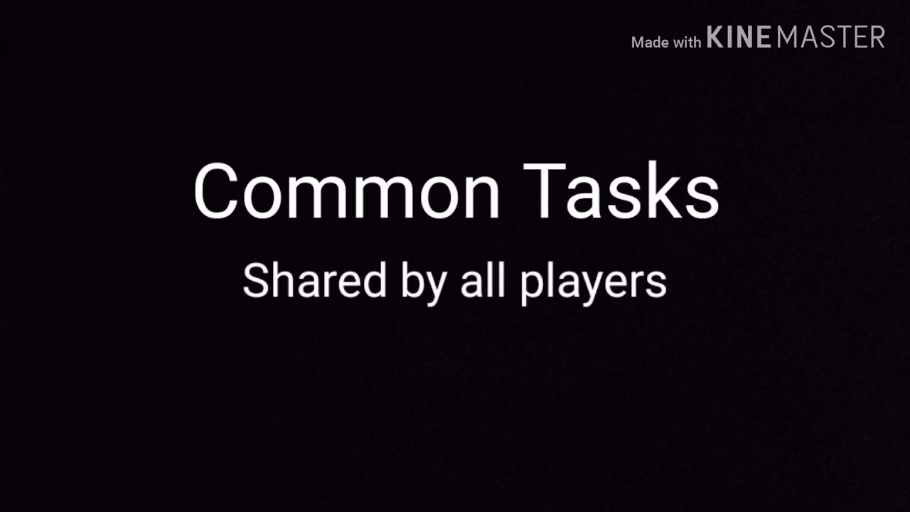 All Common And Visual Tasks In Among Us Youtube