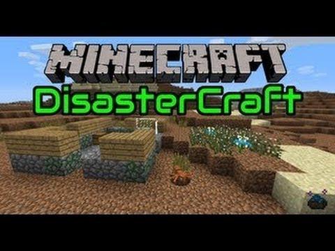 Disaster Craft Mod Minecraft 1 5 2 Youtube