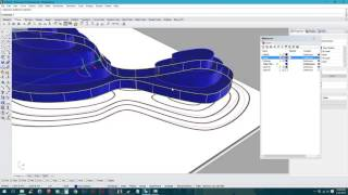 Rhino 5: Working with Contours & Topography Tutorial