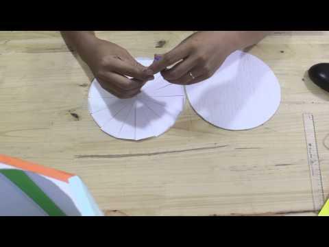 Tự làm đèn kéo quân bằng giấy