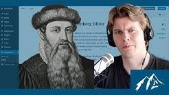 The new WordPress WYSIWYG Editor - Gutenberg