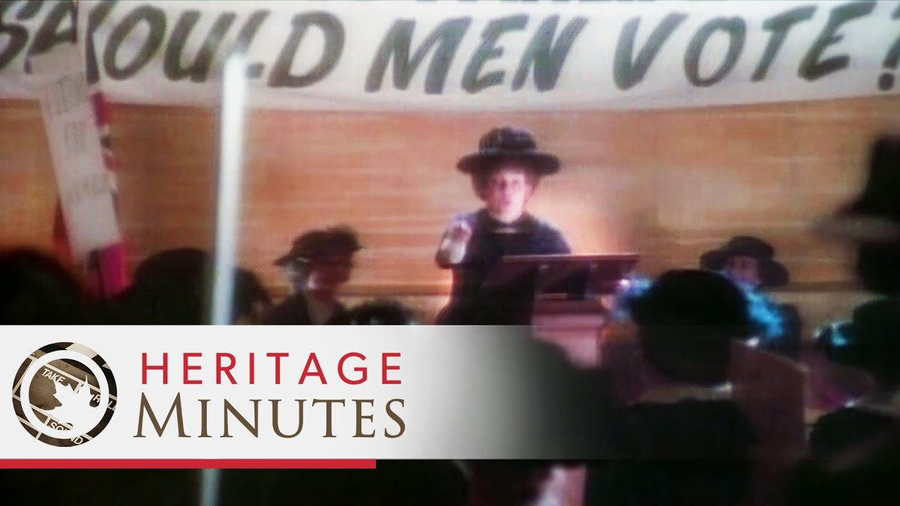 Heritage Minutes: Nellie McClung