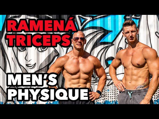 4K! Tréning men's physique ramená + triceps. Valihora a Matej Krajčír.