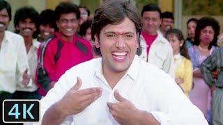 'Filmo Ke Sare Hero Mere Aage Hai Zero' Full Video 4K Song   Juhi Chawla, Govinda   - Swarg