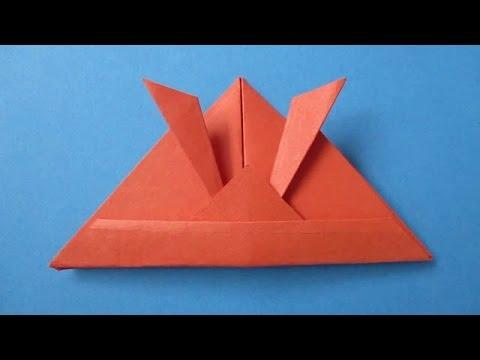 Samurai Helmet - How to make a Paper Samurai Helmet