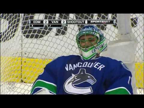 Canucks Vs Oilers - Complete Shootout - 01.24.12 - HD
