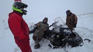 Опять сломался снегоход RM Vector 551i снегоход  Русская механика вектор 551, ТАЙГА ВАРЯГ 550 V