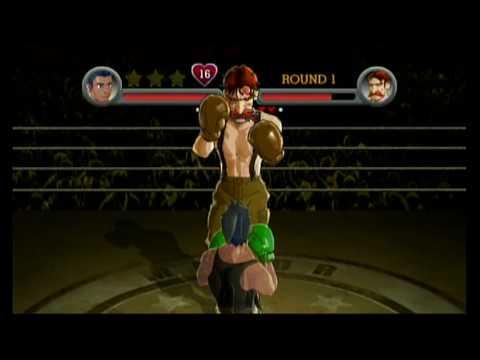 Punch Out Wii: Von Kaiser Challenges