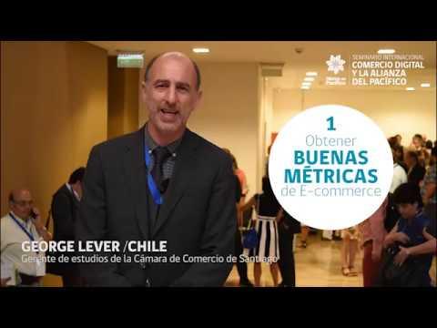 George Lever Gerente Estudios de la Cámara de Comercio de Santiago