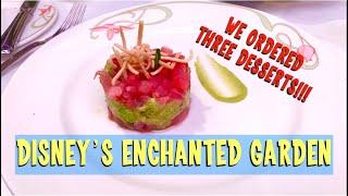 Disney Cruise Line's Enchanted Garden Restaurant - Sofatime