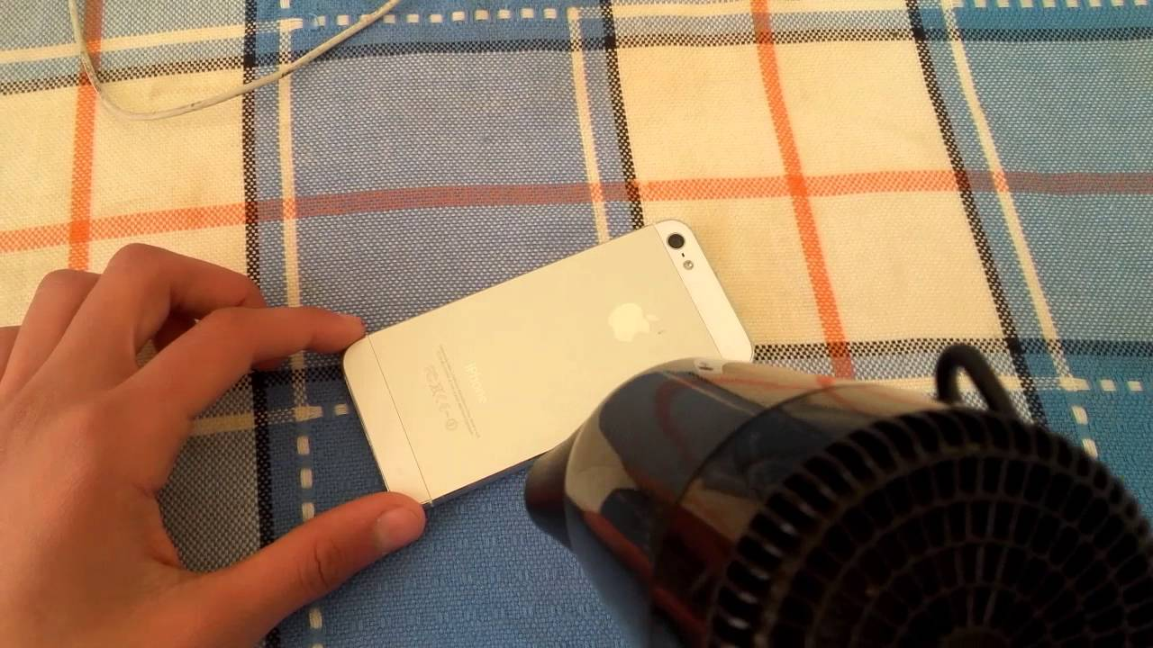 how to fix iPhone stuck on battery logo