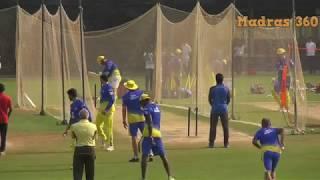 Dhoni Batting VS Imran Tahir Bowling - Shane Watson Vs Harbajan Singh  Bowling -IPL 2018- CSK