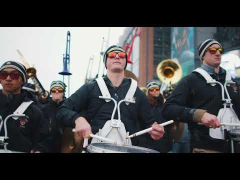 Army/Navy Drumline Battle 2017 [4K]
