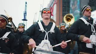 Army/Navy Drumline Battle 2017 [4K]