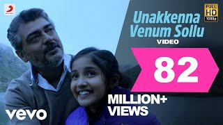 Cover images Yennai Arindhaal - Unakkenna Venum Sollu Video | Ajith| Harris Jayaraj