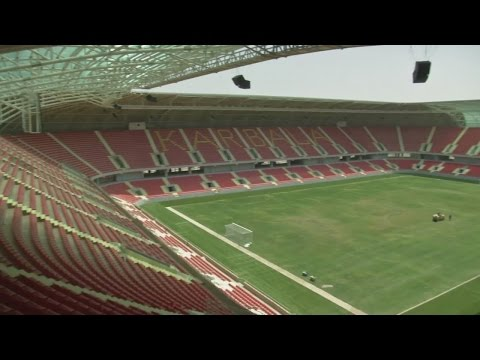 Iraq Sports City 'a message to the world'